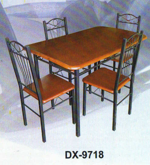 DX 9718 4 CHAIR DINING TABLE Cebu Appliance Center