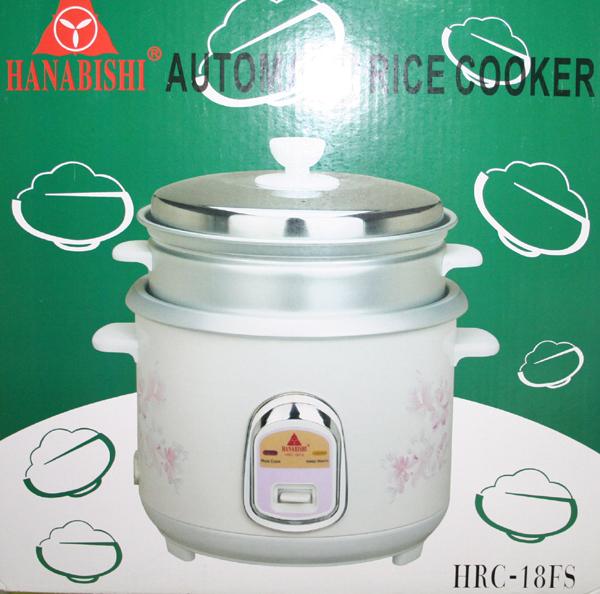 Hanabishi Coffee Maker 1 Cup Hcm 1c : Hanabishi HRC18 Rice Cooker - Cebu Appliance Center