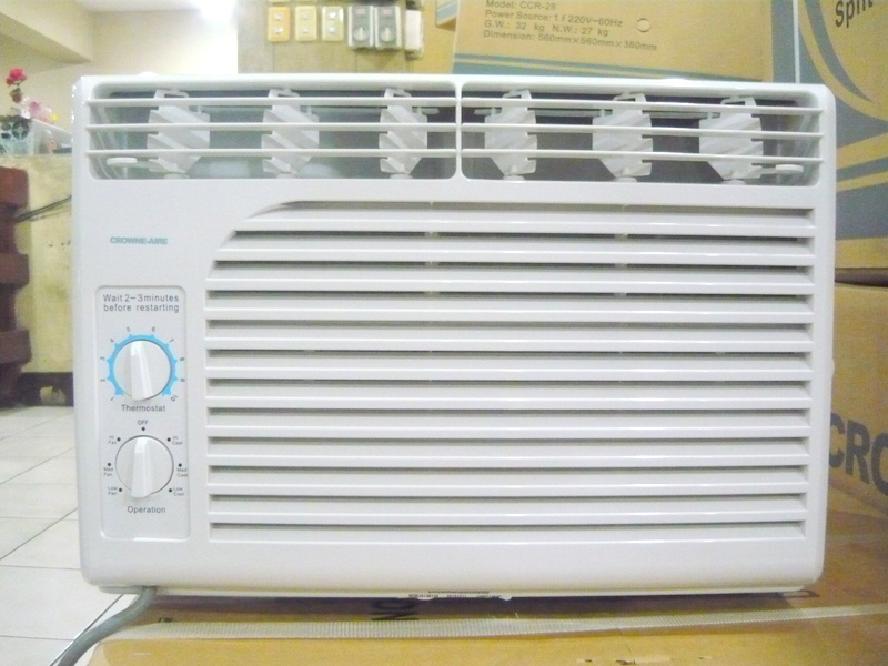 Crowne Aire 0 6hp Window Type Airconditioner Summer Sale