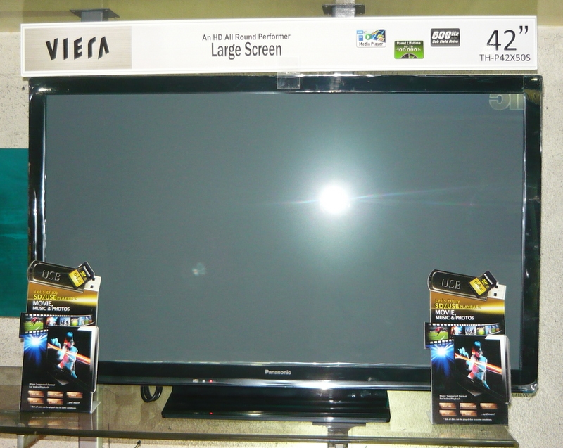 Panasonic 42 Quot Plasma Tv With Usb And Sd Card Port And Lan