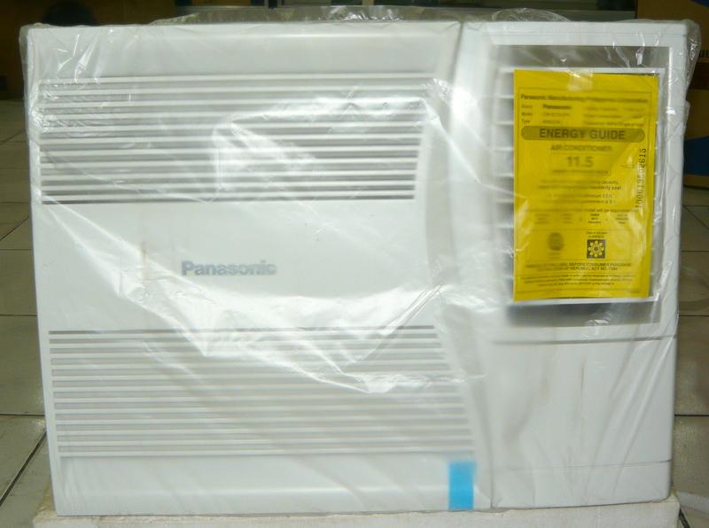 Panasonic 3 4 hp window type aircon cebu appliance center for 2 5 hp window type aircon