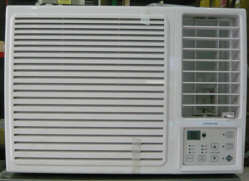 Crowne aire 1 hp window type aircon with full remote for 2 5 hp window type aircon