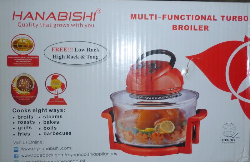 hanabishi multi function turbo broiler