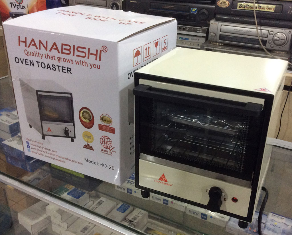 Countertop Oven Philippines : Hanabishi Oven Toaster HO-20 (White) - Cebu Appliance Center