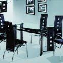 TCC-047 ( LDT 065-2 ) 6 seater dining set