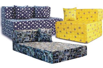 "TIFFANY 2 FOLDS SOFA BED 48"" Cebu Appliance Center"