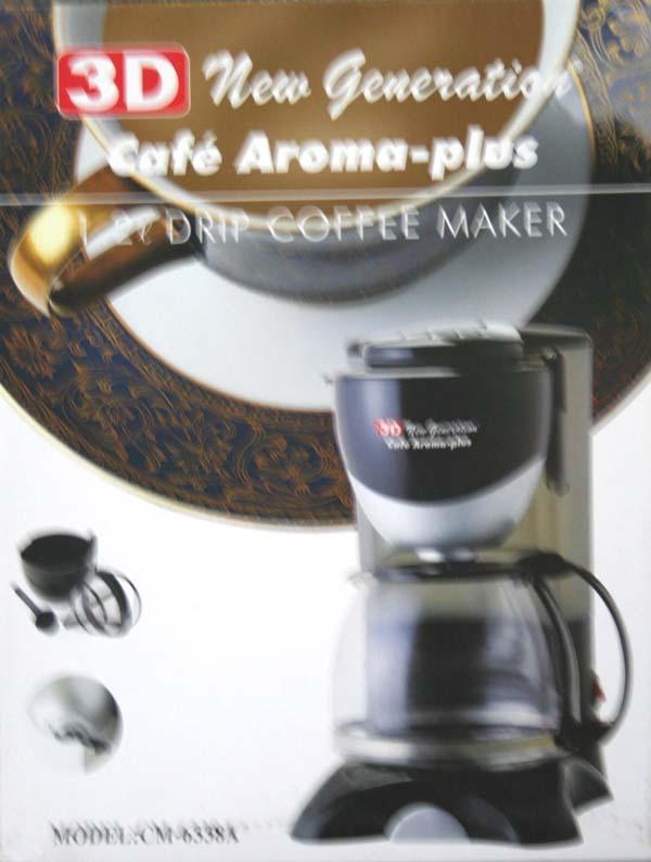 3D CM6338A coffee maker - Cebu Appliance Center