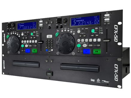 Gemini Cfx 50 Professional Dual Cd Player With Effects