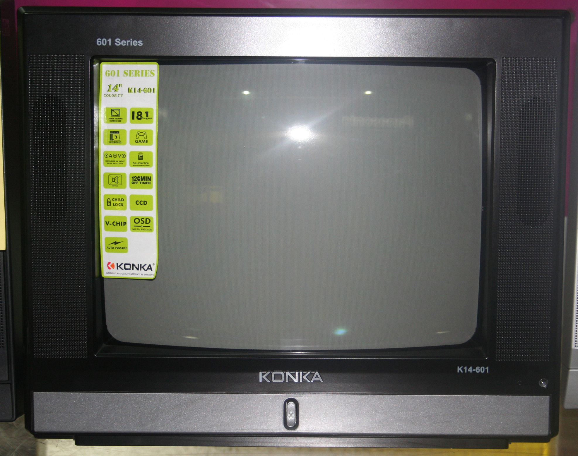 Konka K14-601 - 14 U0026quot  Color Tv