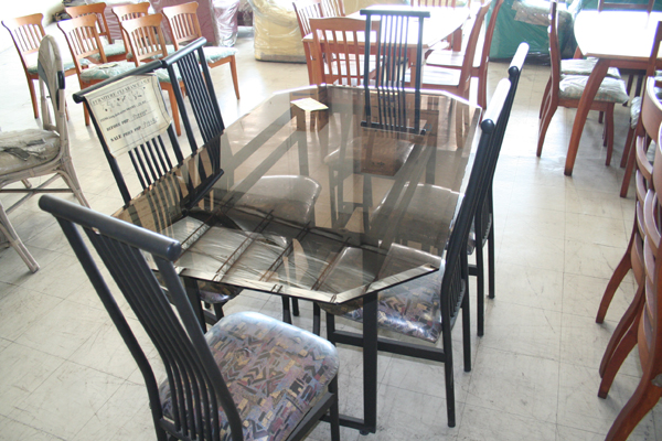 Glass Dining Table IS 824 Cebu Appliance Center