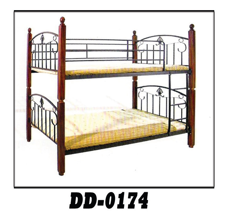 DEW FOAM DD-0174 DOUBLE DECK BED FRAME with Mattress - Cebu ...