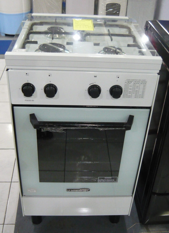 La Germania 3 Gas Burner Manual Oven Cebu Appliance Center