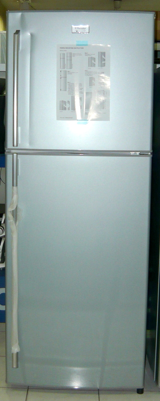 electrolux white electrolux white westing house 10 cuft no frost 2 door ref