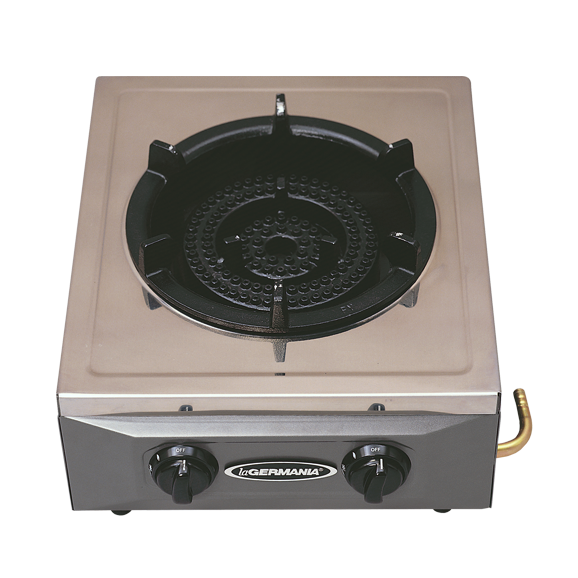 commercial gas range.  Commercial La Germania Single Burner Semicommercial Gas Stove In Commercial Gas Range R
