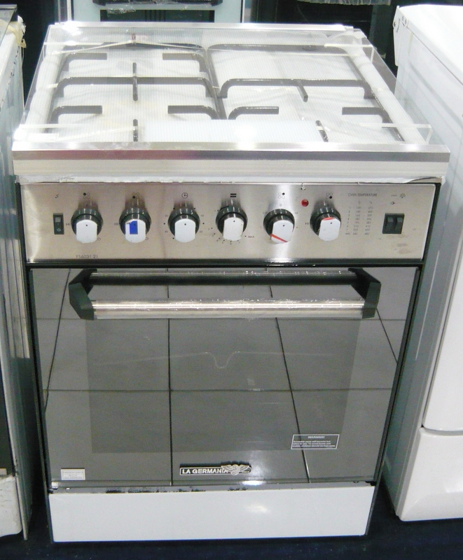 la germania 3 gas 1 electric hotplate stainless cebu appliance center. Black Bedroom Furniture Sets. Home Design Ideas
