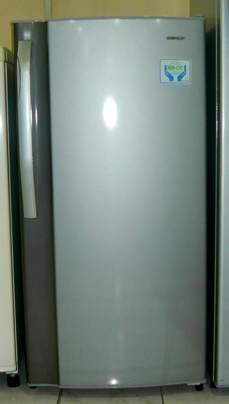 sharp refrigerator single door. pre-owned sharp 6.7 cuft - single door refrigerator cebu appliance center