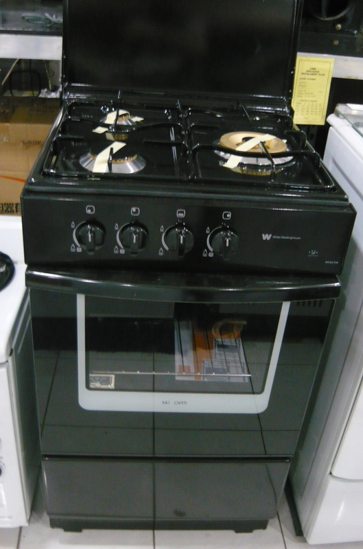 Electrolux White Westinghouse 3 Gas Burner Gas Oven