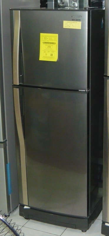 Panasonic 2 Door No Frost 7 7 Cuft In New Stainless Color