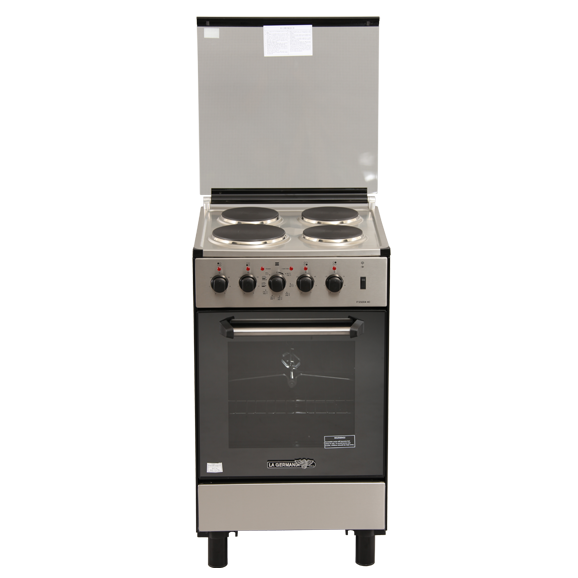 La Germania 4 Burner Electric Range With Electric Oven