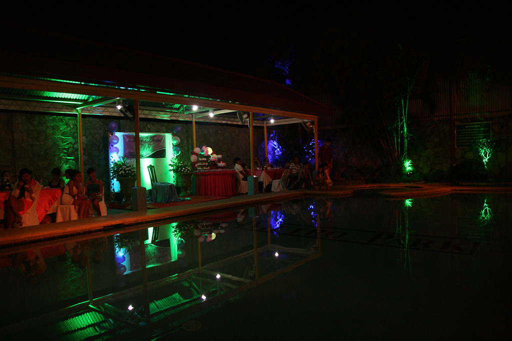 CAC Colored LED Lighting for Events & Parties