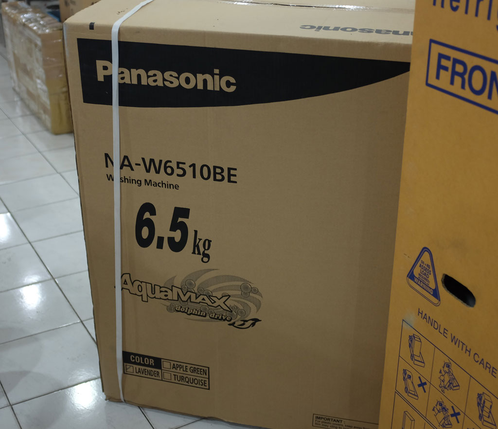 Panasonic NA-W6510BE 6.5 kg Twin Tub Washing Machine