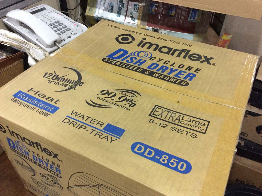 Imarflex Cyclone Dish Dryer Sterilizer & Warmer