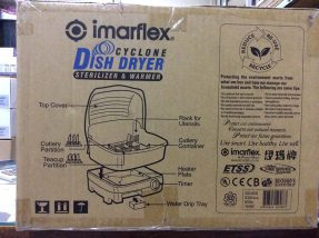 Imarflex Cyclone Dish Dryer Sterilizer & Warmer