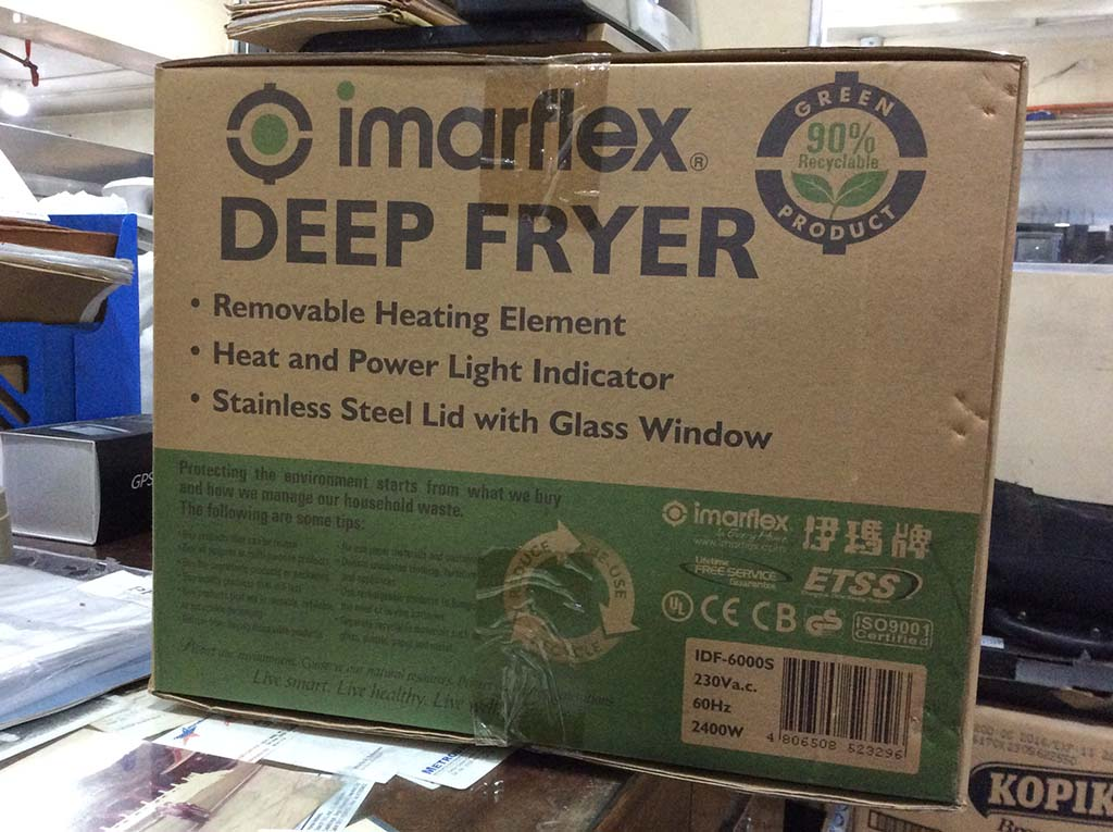 Imarflex Deep Fryer IDF-6000S