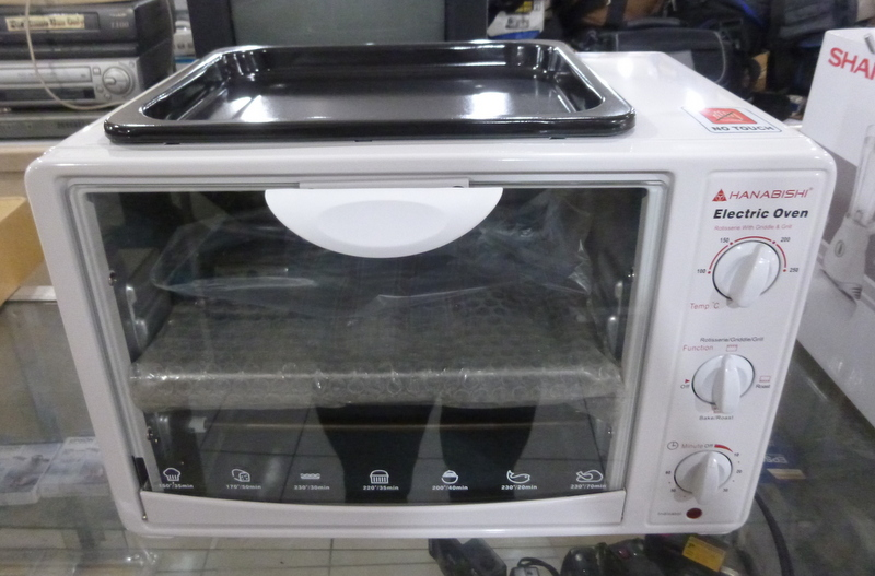 Hanabishi Electric Oven Cebu Appliance Center