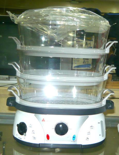 Hanabishi 3 layer Food Steamer with Keep warm function - Cebu ...