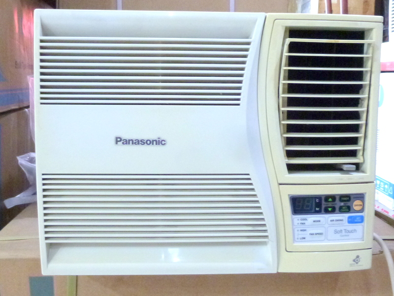 Panasonic 3 4 hp window type aircon with electronic for 1 5 ton window ac unit consumption per hour