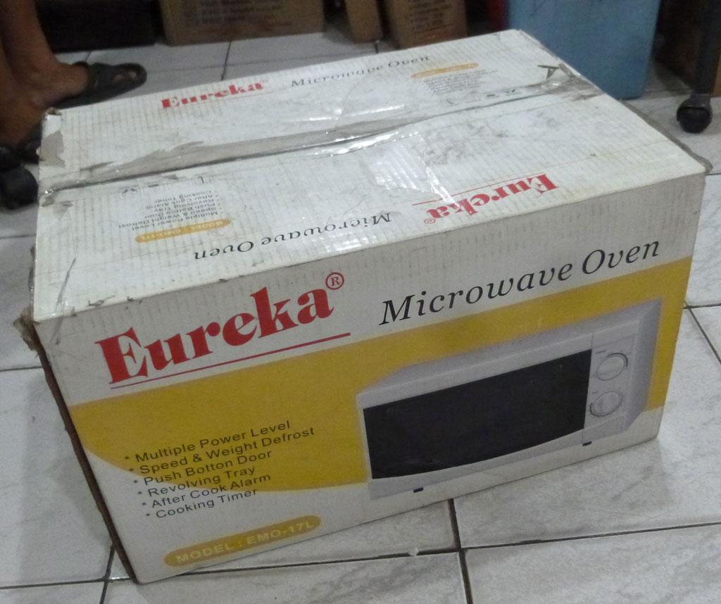Eureka Microwave Oven Emo 17l Discolored Cebu