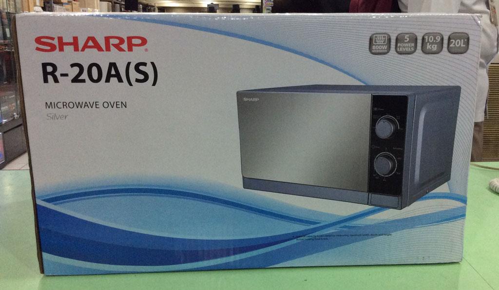 Sharp Microwave Oven R 20a S 20 Liters Cebu Appliance