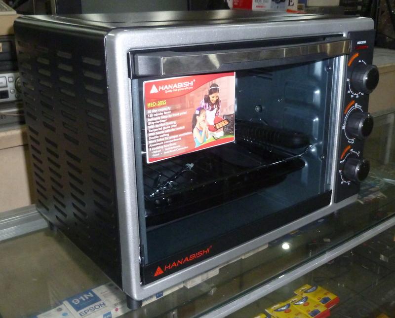Hanabishi 30 Liter Electric Oven Cebu Appliance Center