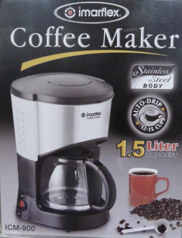 Hanabishi Coffee Maker 1 Cup Hcm 1c : Imarflex 1.5 Liter Coffee Maker - Cebu Appliance Center