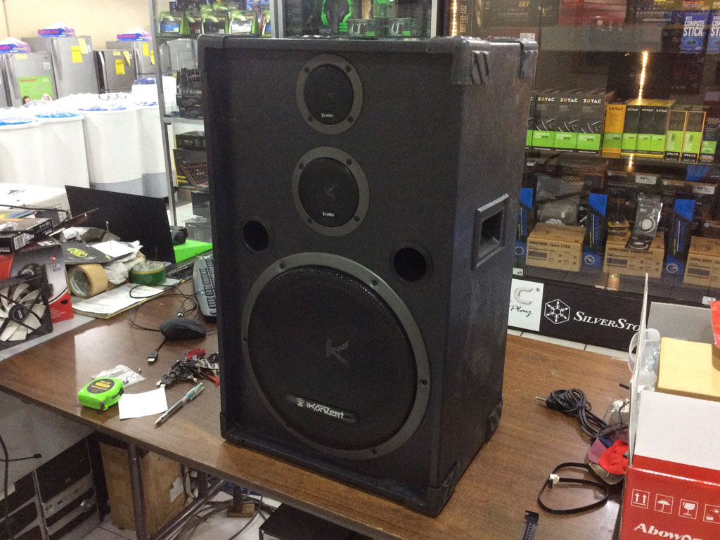 Koncert 3 Way Speakers 1 Pair 12 Quot Woofer Cebu