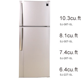 Sharp 7 4 Cuft 2 Door No Frost Refrigerator With Free Rice