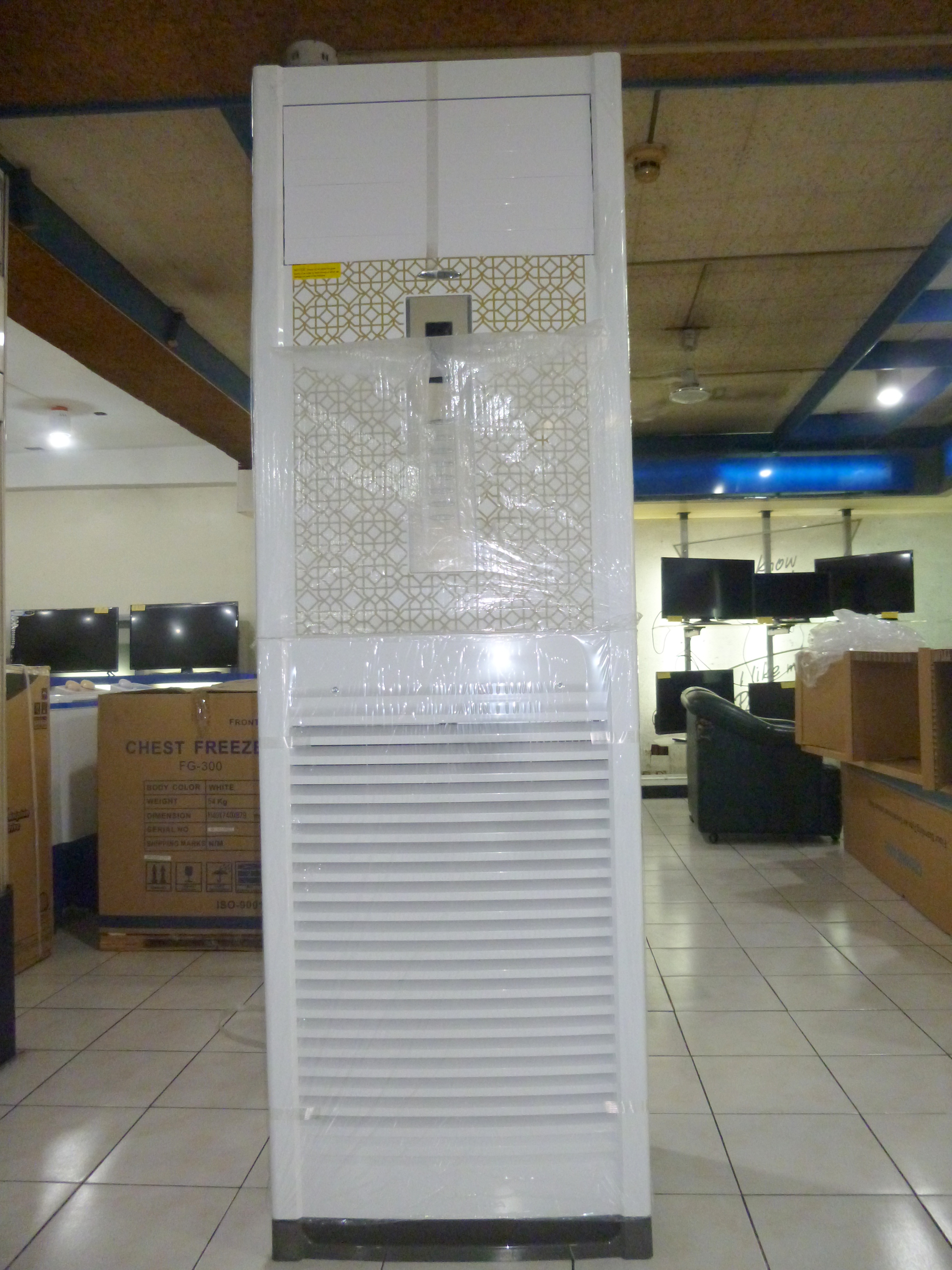 Crowne Aire 5 Tons (6 HP) Floor Mounted Aircon with Single Phase AC Supply  with Free Installation Promo