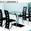 TCC-045 ( LDT 012 ) 4 seater dining set