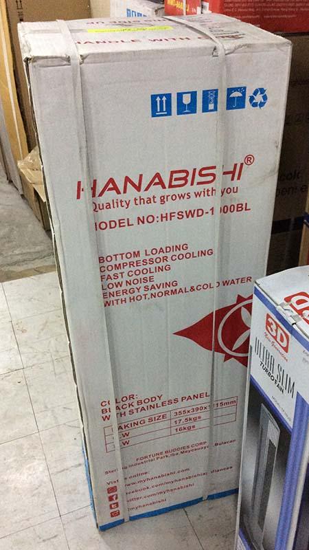 Hanabishi Bottom Loading Water Dispenser HFSWD-1900BL