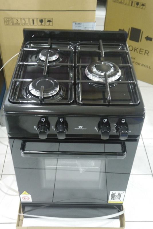 White Westinghouse 3 Gas Burner With Gas Oven Cebu