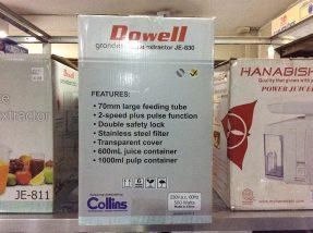 Dowell Grandesa Juice Extractor JE-830